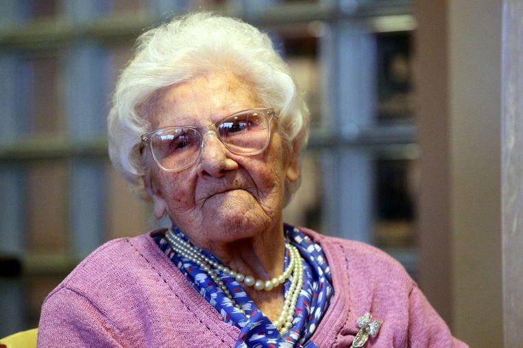 Alicia Corveleyn is 110.