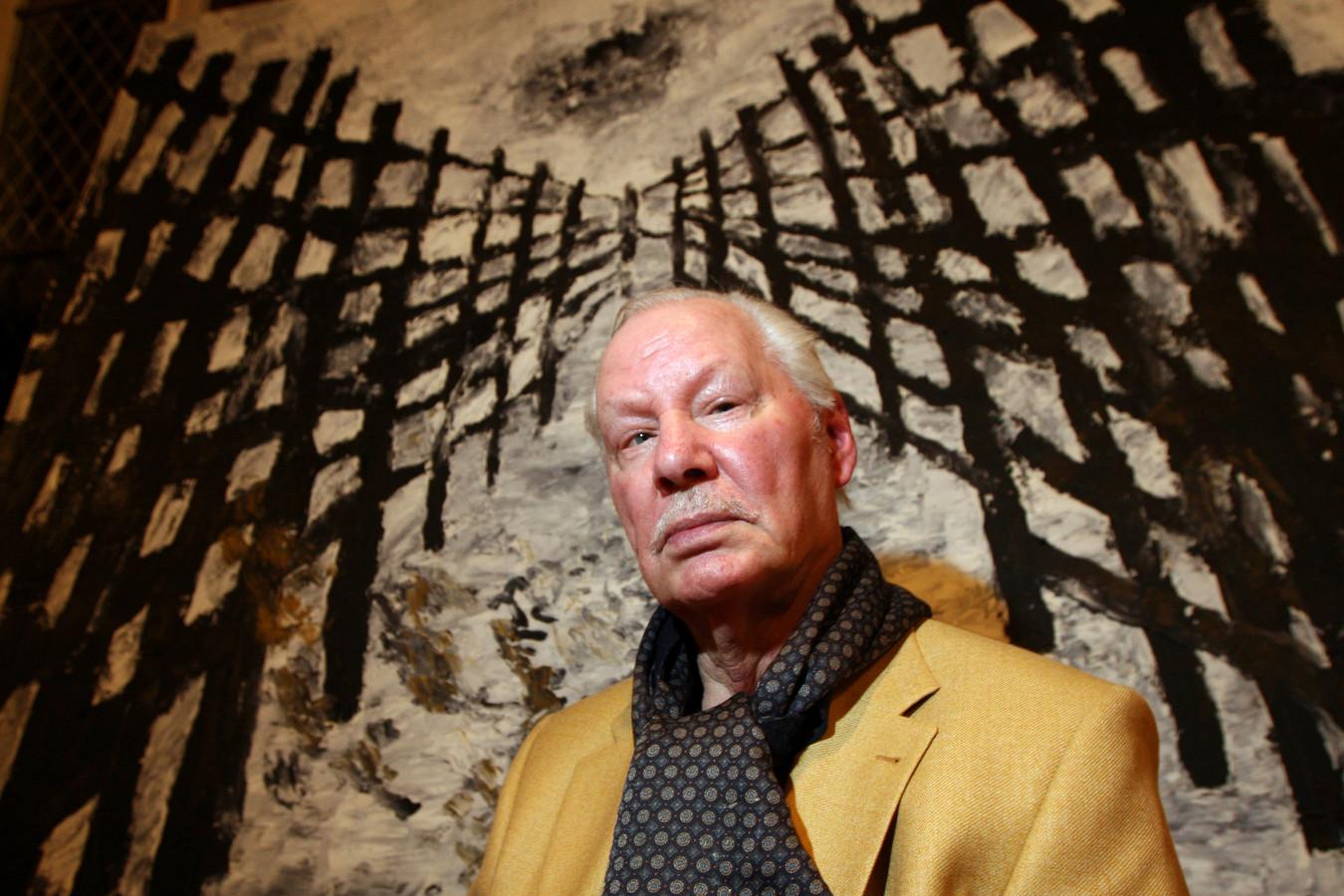 Kunstenaar  Armando (1929 - 2018), wiens werk sterk is vergroeid met Amersfoort.