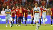 Duivels krijgen voetballes van Spanje, Martínez heeft nog véél werk