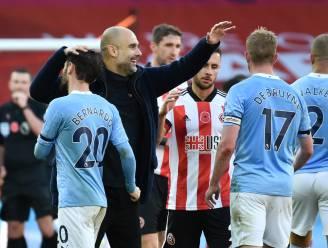 """Man City boekt zuinige zege bij Sheffield, Guardiola drukt na afloop geruchten kop in: """"Mijn tijd bij Barça is voorbij"""""""