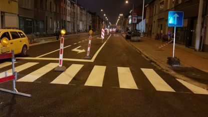 Gentsesteenweg richting Wetteren opnieuw open