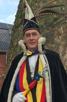 Hein Hoppenbrouwers voor de vierde keer prins carnaval Keiespellersdurp