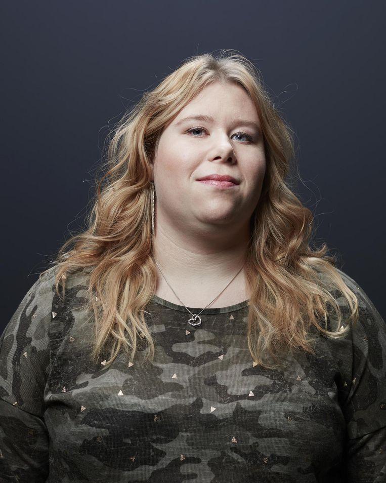 Lisa Swart: 'Over een kind maak ik me wel zorgen. Als het kan leren, hoe moet ik het dan helpen met zijn natuurkundehuiswerk?' Beeld Erik Smits
