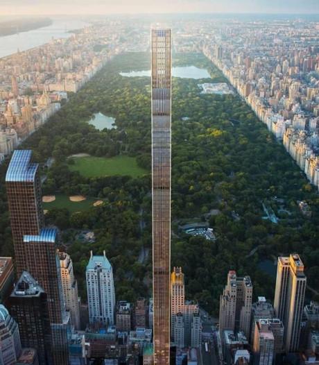 Dunste wolkenkrabber ter wereld staat in New York
