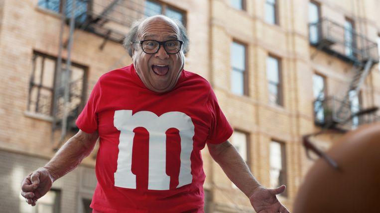 M&M betaalt naar verluidt meer dan 5 miljoen dollar voor een reclamespotje van 30 seconden tijdens de rust.