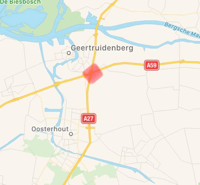 Spoedreparatie aan knooppunt Hooipolder.