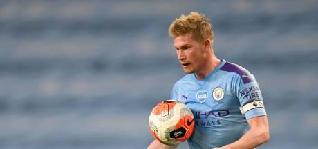 De Bruyne kan Van Dijk opvolgen als UEFA's voetballer van het jaar