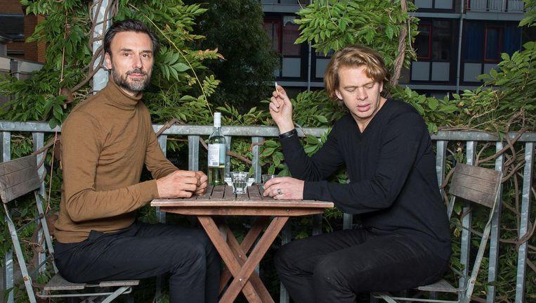 Frank Meester (links) en Coen Simon Beeld Mats van Soolingen