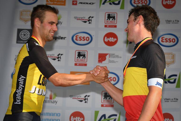 Lampaert won vorig jaar het duel tegen Campenaerts.
