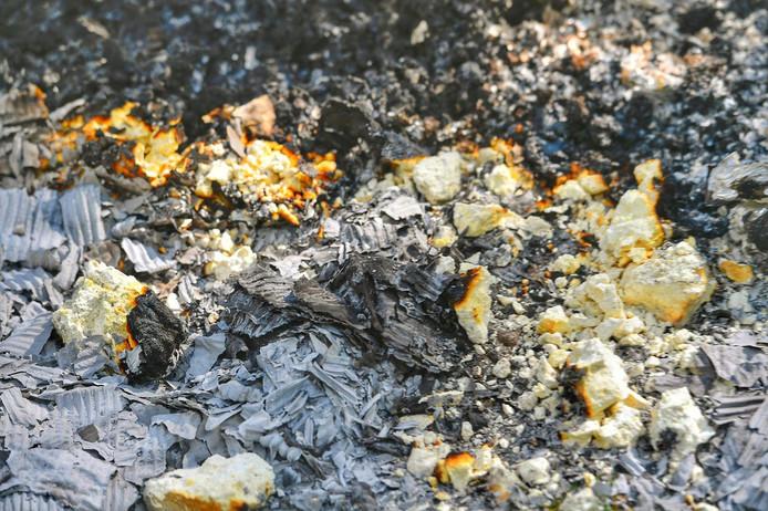 Drugsafval in brand gestoken in Valkenswaard.