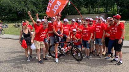 Bouwelse fanclub van Cees Bol gaat uit de bol op NK wielrennen