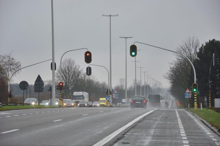 De achtervolging gebeurde op de N45 in Denderleeuw/Haaltert.