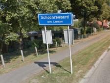 Plaatsnaamborden gemeente Leerdam worden vernietigd