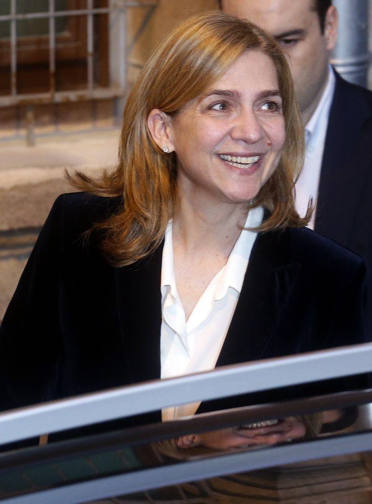 De Spaanse prinses Cristina, echtgenote van Inaki Urdangarin.