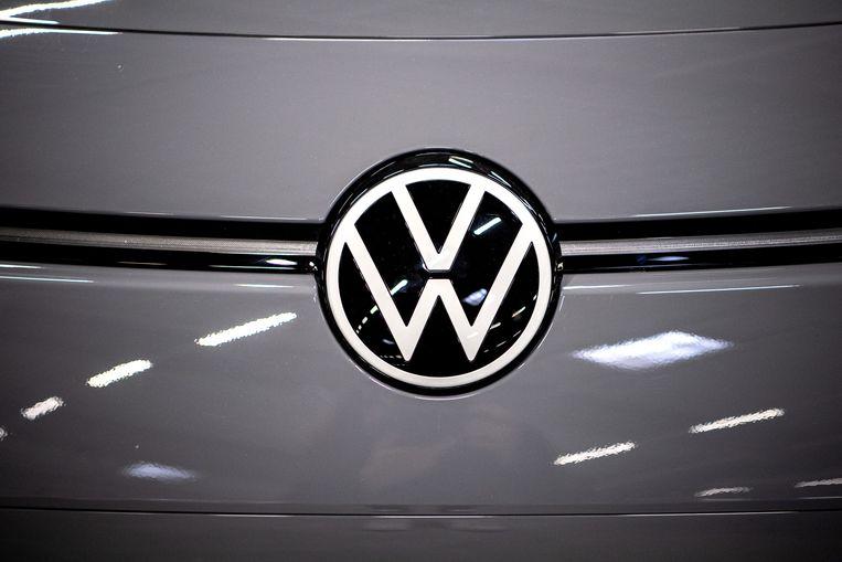 Logo van Volkswagen.