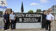 """Protest tegen asielcentrum houdt aan: """"We zijn geen racisten. Het gebrek aan humaniteit in dit dossier stuit ons vooral tegen de borst"""""""