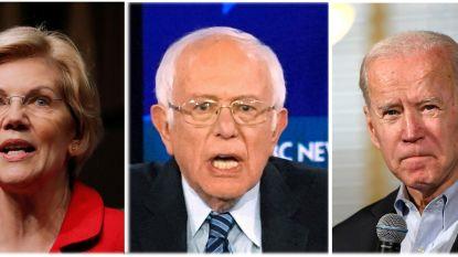 Warren, Sanders, Biden... : wie van de democratische kandidaten weegt zwaar genoeg om het van Trump te halen?