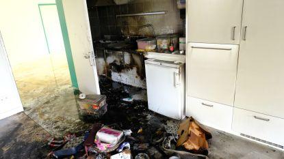 Vorige week ingehuldigd door minister, woensdag al door brand vernield