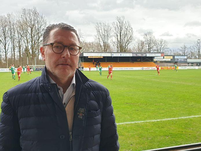 KVV-voorzitter Stefaan Luca gisteren in Bornem.