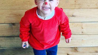 Deze rode neus Cruz vindt Rode Neuzen Dag te gek!