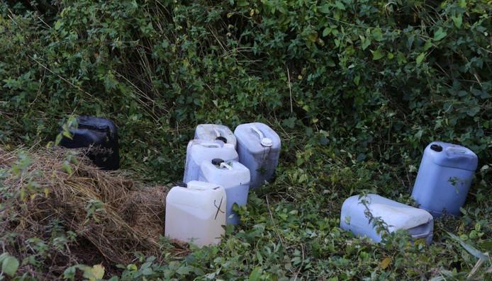De vaten die gevonden zijn in Alem.