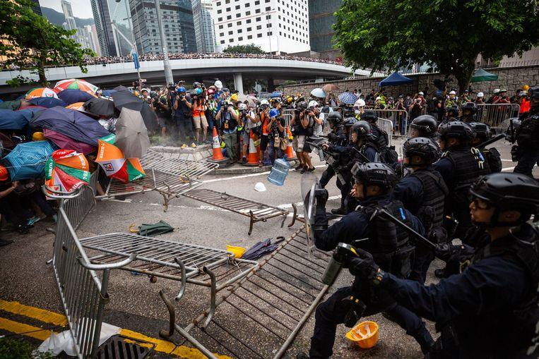 In Hongkong vinden al sinds 9 juni grote protesten plaats tegen een wetsvoorstel dat uitleveringen aan China mogelijk moest maken.