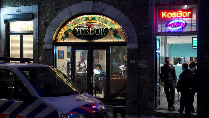 Coffeeshop KosBor in Maastricht.