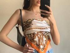 Scarf top: la tendance mode qui explose sur Instagram