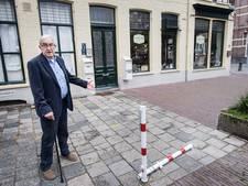Gedenktegel Jan van Hoof ligt op de verkeerde plek