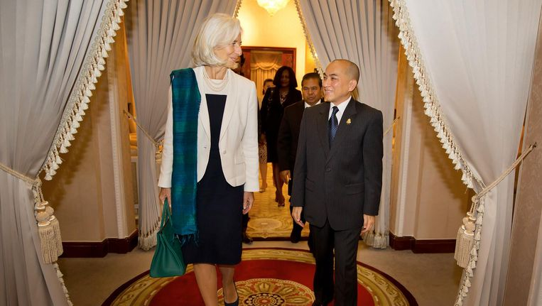 IMF-topvrouw Christine Lagarde in 2013. Beeld afp