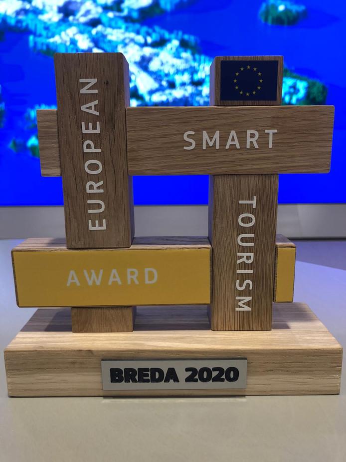 Breda won in Helsinki een een Europese toerismeprijs in in de categorie 'Toegangelijk
