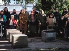 Gent herdenkt Kristallnacht aan het Michaël Lustig-monument