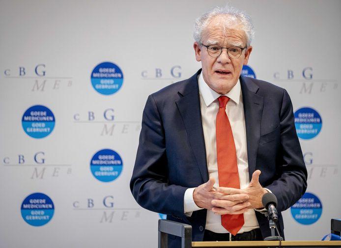 CBG-voorzitter Ton de Boer.