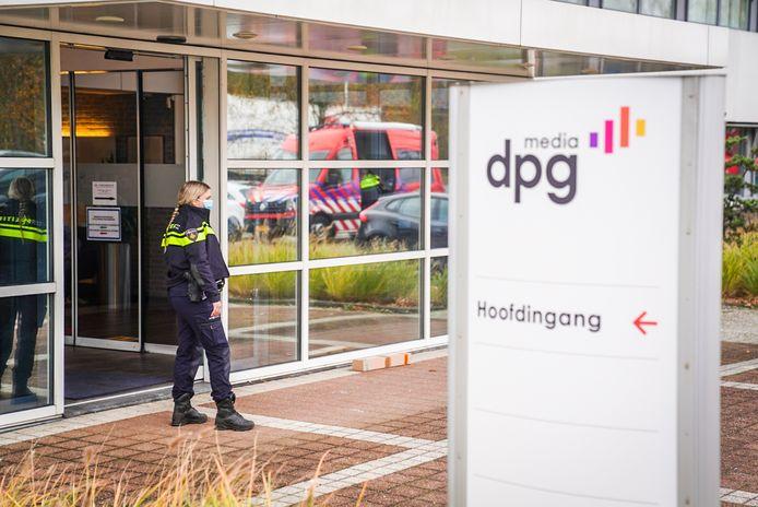Poederbrief bij DPG Media in Best.