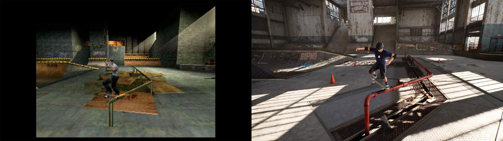 De game toen en nu.