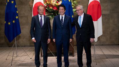 Europese Unie en Japan ondertekenen vrijhandelsakkoord