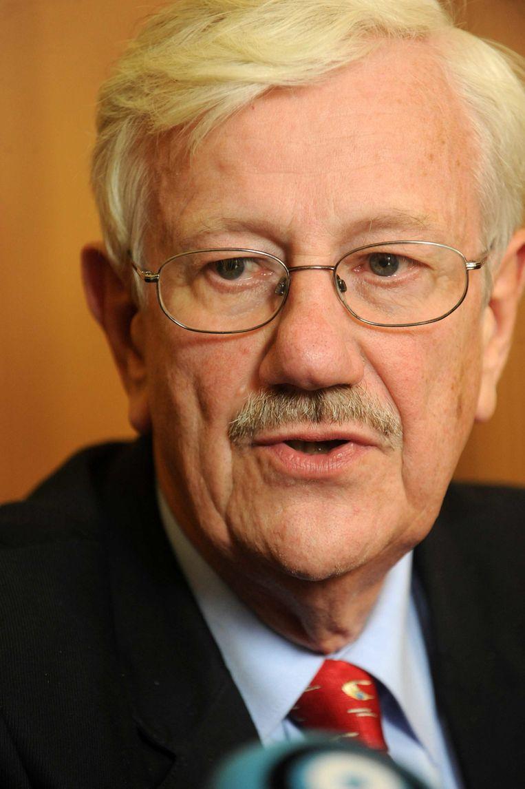 Philippe Moureaux, burgemeester van Molenbeek.