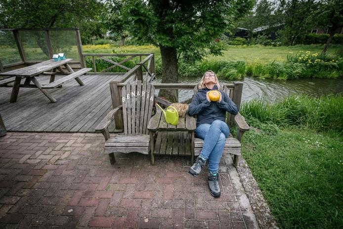 Deze week bracht Marieke een bezoek aan Polsbroek.