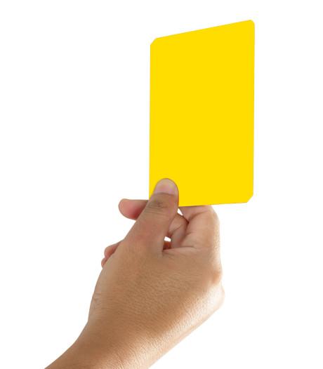 Schouwse voetballers krijgen de meeste kaarten