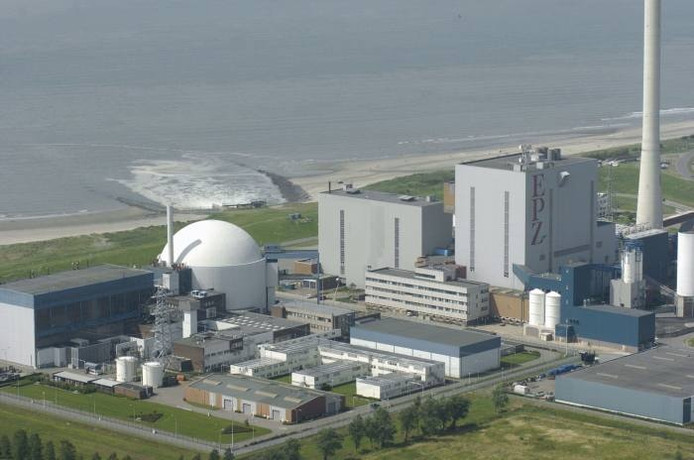 De kerncentrale in Borssele. Foto:GPD