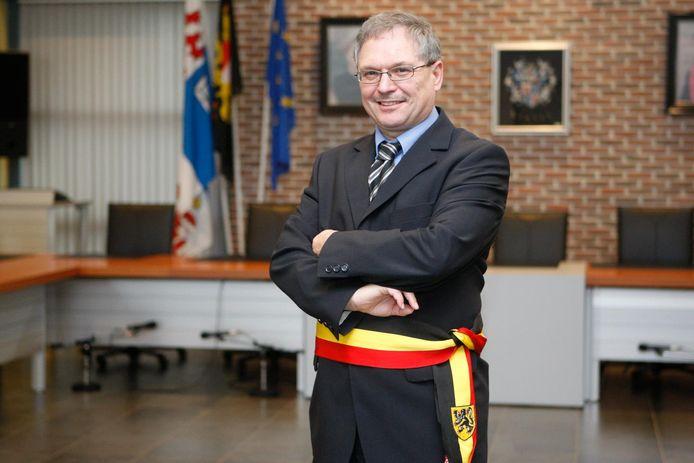 Marc Wijnants, burgemeester van Linter.