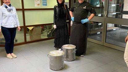 50 liter verse soep voor zorgverleners Lemberge