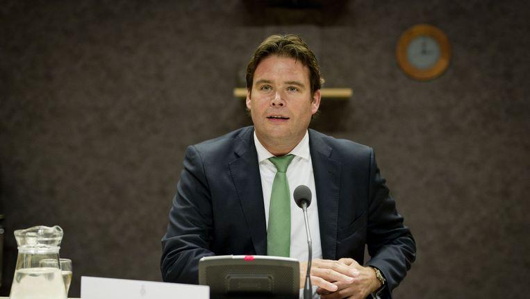 Staatssecretaris Frans Weekers. Beeld ANP