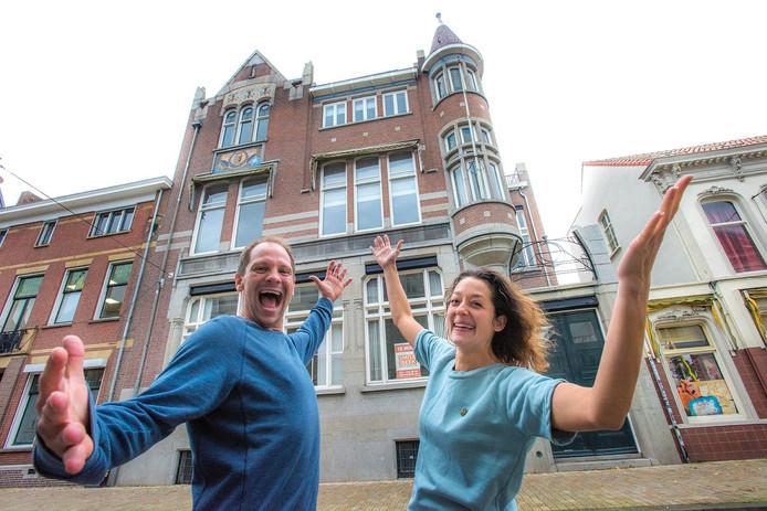 Koen Molkenboer en Marion Leijtens. Foto Jan van Eijndhoven
