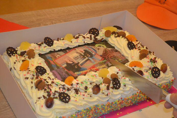 Gratis taart van de bakker.