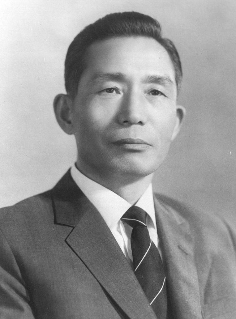 Park Chung-hee, president van Zuid-Korea van 1963 tot zijn dood in 1979. Beeld anp