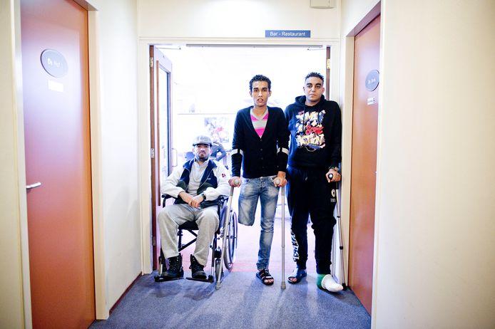 Een groep van 30 Libische oorlogsslachtoffers verbleef in 2012 enkele maanden in Twente, maar de rekening werd nooit in z'n totaliteit betaald.