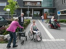 Met brede rolstoel niet in gezondheidscentrum Eersel
