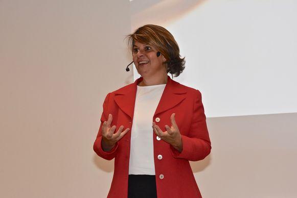 CEO Caroline Van Marcke.