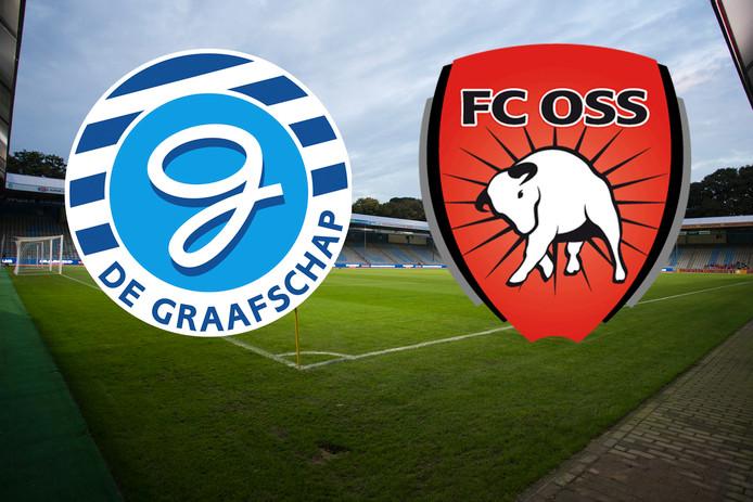 De Graafschap - FC Emmen op De Vijverberg.